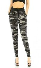 Two Pocket Gray Camouflage Jogger Pants in S/M,L/XL, 2X/3X