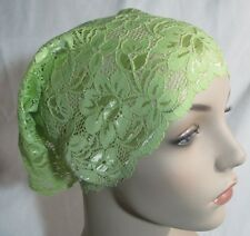 beautiful wide Soft Lace Headband/under scarf stretchable .