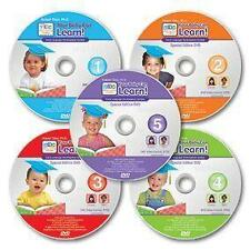 Your Baby Can Learn Read 5-DVD Set~ Brand New~ This is a great DVD Set!