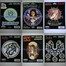 Chroma Graphics Auto Decals Six Options to Choose From Pick Your Favorite Emblem