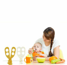 Cut Safe Care Crush Feeding Toddlers Baby Shears Portable Food Scissors