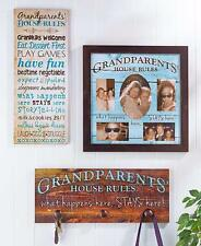 Plaque Grandparents House Wooden Wall Hanging Sentiment Room Home Decor Sign NEW