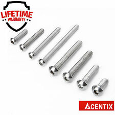 M6 (6mm) A2 STAINLESS STEEL SOCKET CAP SCREWS / BOLTS WITH ALLEN KEY HEX HEAD