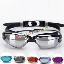 Professional Adult Waterproof Anti-Fog UV Protect Swim Glasses Swimming Goggles