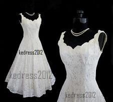 New LACE Sexy White/Ivory Wedding Dress Bridal Gown Size6-8-10-12-14-16-18-20-22