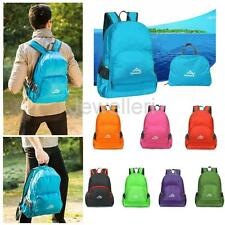 Unisex 20L Durable Packable Handy Lightweight Travel Hiking Backpack Daypack