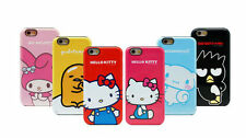 HELLO KITTY Friends Dual Bumper iPhone 6/6S/Plus Cell Phone Case Cover Protector
