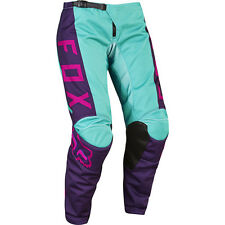Fox Racing 2017 Youth Mx Gear NEW 180 Purple Pink Aqua Girls Motocross Pants