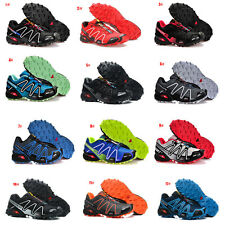 Outdoor Men's Salomon Speedcross 3 Athletic Sneakers Running Shoes Hiking Shoes