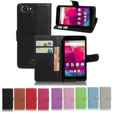 NEW Litchi Texture PU Stand Flip Wallet Leather Case Cover For BLU Dash X D010U