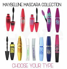 MAYBELLINE MASCARA RANGE CHOOSE YOUR TYPE BLACK BROWN NEW