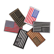 US Flag Armband Embroidered Patch Patriotic USA Military Patch Sewing Flag 1pcs