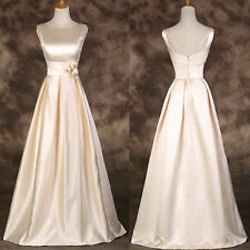 Sleeveless Long Evening Prom Bridesmaids Formal Gown Cocktail Wedding Maxi Dress