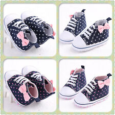 HOT New Baby Boy Winter Sneakers Cloth Shoes Soft Sole Toddler Prewalker 3 Size