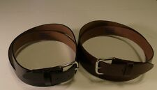 "Top Grain Oil Tan 1.25"" Wide Leather Belts Made in USA Size 30-60"
