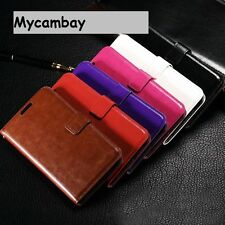PREMIUM LEATHER WALLET BOOK STYLE CASE COVER FOR SAMSUNG GALAXY MOBILE