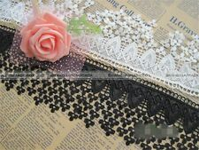 1 yard Embroidery Polyester Lace Edge Trim Wedding Ribbon DIY Sewing Craft S2