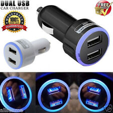 2.1A UNIVERSAL TWIN 2 PORT DUAL USB 12V/24 CAR CHARGER CIGARETTE SOCKET LIGHTER