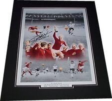 Geoff Hurst - England Signed Montage Photo Mounted 1966 World Cup Winners