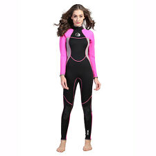 Neoprene 3mm Scuba Dive Suit Wetsuit Women Swimsuit Surfing Diving Swimming