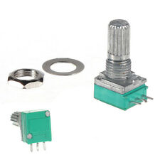 1/5/20/50/100 K ohm Linear Rotary Pot Potentiometer With Nut & Spacer UK SYH