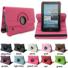 "Rotating Tablet Leather Case Cover For Samsung GALAXY TAB 2 7.0"" GT-P3100 P3110"