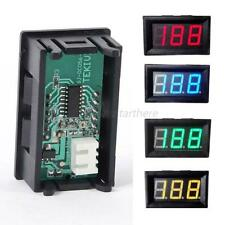 0-100V Voltmeter LED Panel Mini DC Digital Display Volt Voltage Meter WaterProof