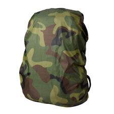 Camping Hiking Rucksack Backpack Foldale Waterproof Camo Rain Cover Poncho
