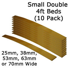 Replacement Small Double 4ft - 25mm, 38mm, 53mm, 63mm or 70mm Sprung Bed Slats