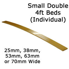 Small Double 4ft - 25mm, 38mm, 53mm, 63mm or 70mm Sprung Bed Slats - Individual