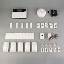 Wireless LCD GSM Intelligent Home Security Alarm System MY