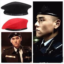 NEW Vintage Military Soldier Army Beanie Hat Unisex Men Women Wool Beret Cap