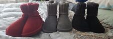 NEW!! Lamo Suede Water Resistant Boots-Sweater Cuff-Empire sz 7 and 9 only.
