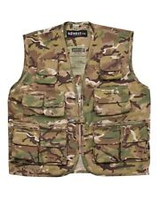 NEW KIDS ARMY BTP TACTICAL VEST - NEW - MTP STYLE - FANCY DRESS - ALL SIZES