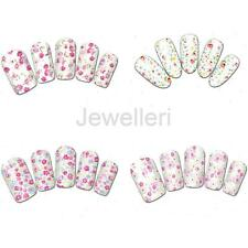 20 x Charming Flower Painting Nail Art Stickers Transfer Water Decals Nail Wraps