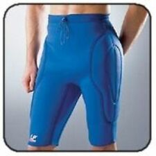 LP766 PADDED GOALKEEPER COMPRESSION SHORTS Blue Hip Thigh protection shorts wear
