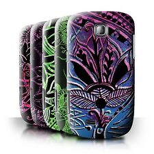 STUFF4 Back Case/Cover/Skin for Samsung Galaxy Mini/S5570/Henna Paisley Flower