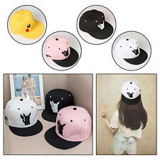 New Fashion Casual Hip-Hop Hat Dome Flat Brimmed Korean Style Adjustable Cap