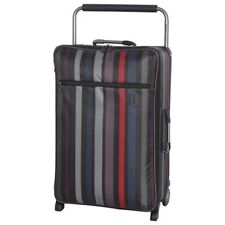IT Worlds Lightest Stripe Small Suitcase
