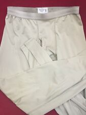 ONE PAIR POLARTEC Peckham Lightweight Cold Weather Drawers Pants Long Johns Sand