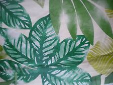 """New Elrene Vinyl Tablecloth PALM TREE FRONDS 52""""x 70"""" & 90"""" 60"""" Rnd 52"""" Sq LEAVE"""