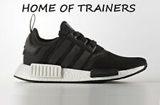 Adidas Nmd R1 Runner  BLACK WHITE Unisex Trainers All Sizes (S80206)