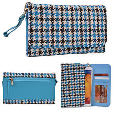 Kroo Universal Patterned Metro Wristlet w/ Coin Pocket ECLGMT-4