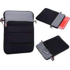 Tablet Carrying Bag Case Extra External Pouch for Microsoft Surface Pro 4 12.3""