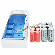 6x D  Ni-MH Rechargeable Battery +6x C  Ni-MH  Rechargeable Battery+Charger