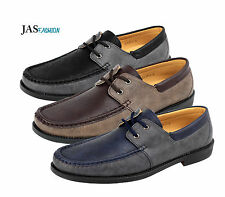 Mens NEW Slip On Boat Deck Shoes Driving Moccasin Smart Casual Loafers Size 6-12