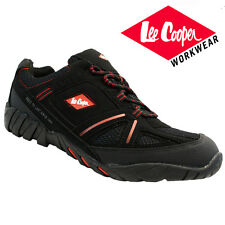 MENS LEE COOPER LEATHER SAFETY WORK BOOTS STEEL TOE CAP SHOES TRAINERS HIKER NEW