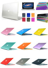 "Crystal Clear Hard Case Covers Shell For Macbook Air 11 13"" Pro Retina 12 13 15"""