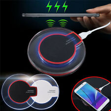 USA Fantasy Clear Qi Wireless Fast Charger Charging Pad Mat For Samsung LG HTC d