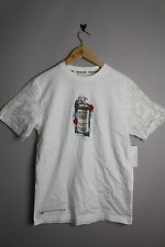 BILLABONG EST81274 MENS TAGGING BLEACH WHITE SHORT SLEEVE T-SHIRT